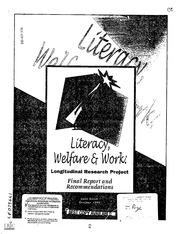 bibliography for welfare reform In the wake of welfare reform, unemployed people are pushed to quickly find work, any work but too often those jobs lead nowhere.