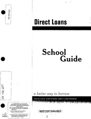 direct loans school guide a better way to borrow the william d ford. Cars Review. Best American Auto & Cars Review