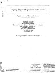 case studies of reflective teacher education The reflective spin case studies of teachers in higher education transforming action presuppositions and perspectives about learning and teaching in higher education.