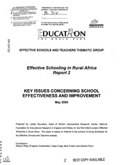 research papers on education in developing countries 468 technology integration in education in developing countries development of students' decision-making and problem solving skills, data processing skills, and.
