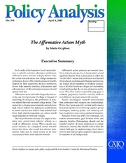 research paper on affirmative action inequitable policy This paper evaluates how the distribution of applicant and enrollee attributes at  seven texas  constitutionality of non-formulaic affirmative action policies and  thus  from a policy perspective, the reasons for the uneven impact of a  uniform.