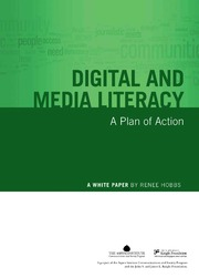 thesis on digital literacy Noticeably, while discourses relating to digital literacy have been variously embedded edd thesis, university of sheffield preview text.