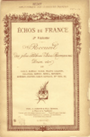 Échos De France Volume 3