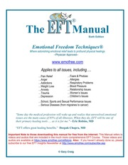 eft manual gary craig free download borrow and streaming rh archive org the eft manual craig the eft manual by gary craig