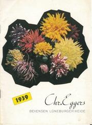 Eggers, Chr.: Dahlienkatalog 1939