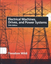 electrical machines drives and power systems 5th edition solution manual pdf