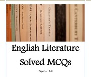 English= Literature Solved MCQs ( 1999 2011) : Free Download