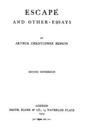 george christopher williams essays