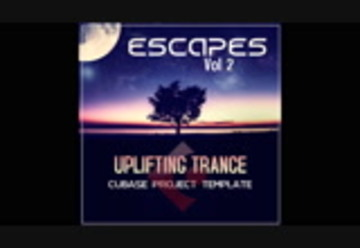 Cubase Template - Uplifting trance - Escapes Vol 2