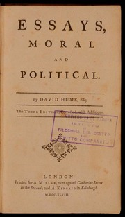 essays moral and political by david hume  hume david  free  essays moral and political by david hume  hume david  free download  borrow and streaming  internet archive