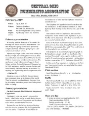 Central Ohio Numismatic Association (CONA) Newsletter