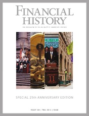 Financial History #104  (Fall 2012)
