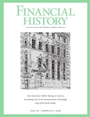 Financial History #105 (Winter 2013)
