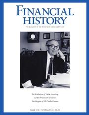 Financial History #110 (Spring 2014)