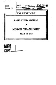 Fm 31 10 basic field manual coast defense free download for Marine corps motor transport characteristics manual