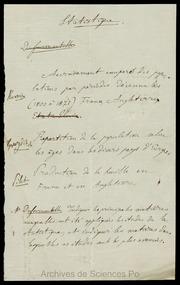 3E009. Examens de 1875 : sujets d-examen, statistique (non signé)