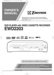 funai emerson ewd2203 dvd vcr combo user manual free download rh archive org Zenith DVD VCR Combo Zenith DVD VCR Combo