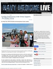 Families OverComing Under Stress Supports The Military Family