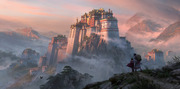 Fantasy Asian Castle Concept Art Sean Vo Free Download