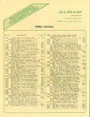 April Listing