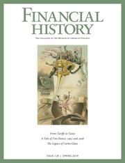 Financial History (Spring 2019)