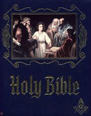 Freemason Bible: The King James Master Reference Edition