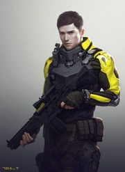 Futuristic Young Soldier Concept Art Hyungwoo Kim Free Download Borrow And Streaming Internet Archive