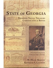 State of Georgia Treasury Notes, Treasury Certificates, and Bonds