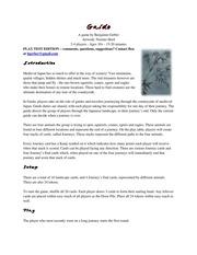Gaido Print and Play V0.95