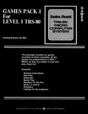 Tandy Radio Shack TRS-80 Manuals : Free Texts : Free Download