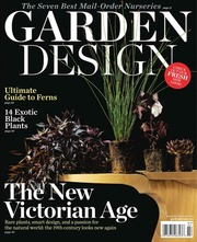 whats in the magazine garden design growing with plants the