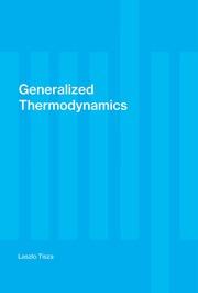 Generalized thermodynamics