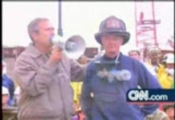 George Bush Bullhorn Speech 9 14 2001 Free Download Borrow And