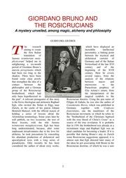 giordano bruno essays on magic