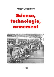 Science, technologie, armement