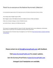 Gold Certificates Plate Proof Examples (Part 1)