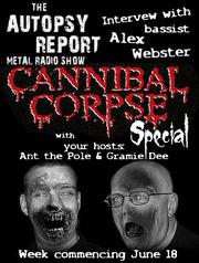 Autopsy report metal radio