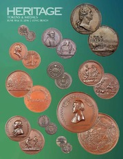 Heritage Tokens & Medals June 10 & 13 Long Beach