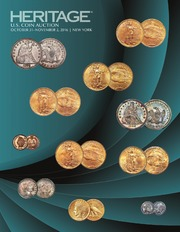 2016 October-November US Coins Signature Auction New York