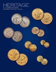 2017 December 7-10 US Coins Signature Auction Dallas, TX