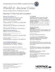 Long Beach Expo World Coins Auction - Long Beach #3042