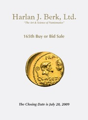 Harlan J. Berk, Ltd., 165th Buy or Bid Sale