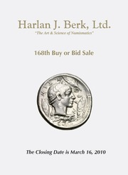 Harlan J. Berk, Ltd., 168th Buy or Bid Sale