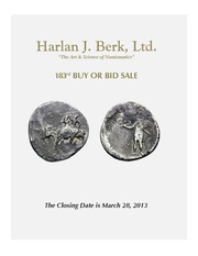 Harlan J. Berk, Ltd., 183rd Buy or Bid Sale