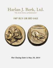 Harlan J. Berk, Ltd., 190th Buy or Bid Sale