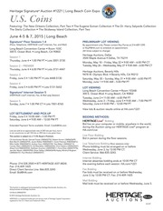 2015 June 4 - 7 Long Beach Expo US Coins Signature Auction - Long Beach  #1221
