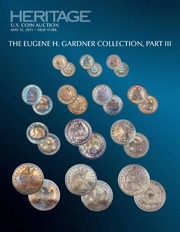 2015 May 12 The Eugene H. Gardner Collection III US Coins Signature Auction - New York  #1228