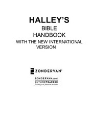 Halley's Bible Handbook Henry H  Halley : Free Download