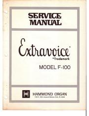 User account hammond organ f 100 extravoice service manual fandeluxe Choice Image