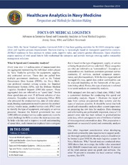 Healthcare Analytics in Navy Medicine vol. 4, issue 6